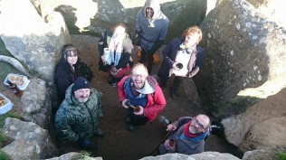 West Kennet Long Barrow Heathens in the UK
